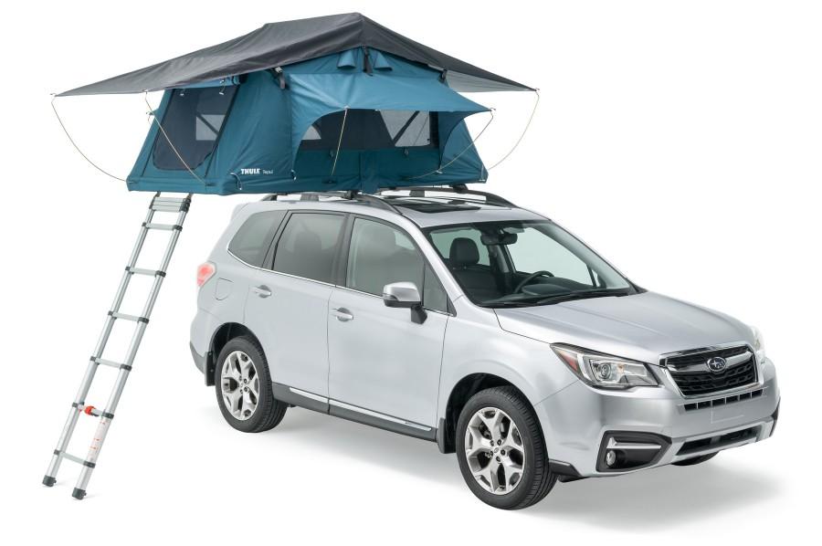 Thule Tepui - Namiot dachowy dla kochających wolność oraz przygodę!